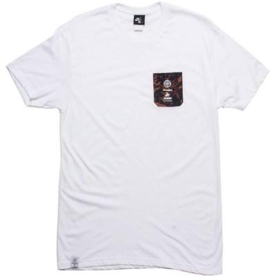 アコンプライス Akomplice メンズ Tシャツ ポケット トップス x X-Large MWG Pocket Tee white