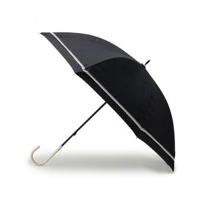 ITS' DEMO(イッツデモ) 無地・ドット柄ショート丈長傘(晴雨兼用)