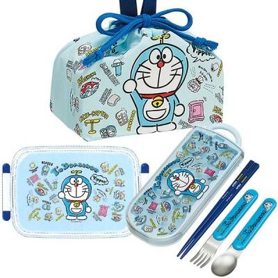ドラえもん I'm Doraemon 抗菌 角型お弁当箱 450ml トリオ 巾着セット