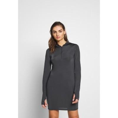 ニリーバイネリー レディース ワンピース トップス BIKER DRESS - Jersey dress - grey grey