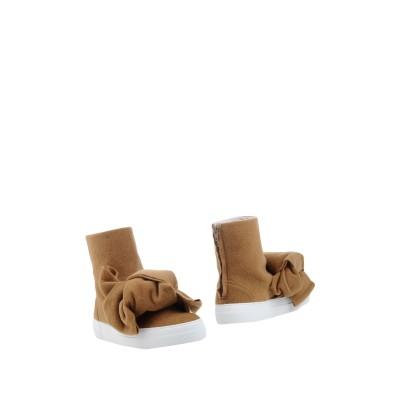 ジョシュア サンダース JOSHUA*S ショートブーツ キャメル 35 紡績繊維 ショートブーツ