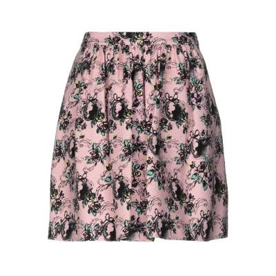 BOUTIQUE MOSCHINO ミニスカート ピンク 36 コットン 100% ミニスカート