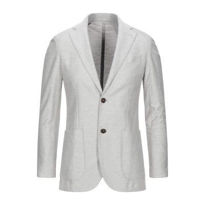 イレブンティ ELEVENTY テーラードジャケット ライトグレー 50 麻 67% / コットン 33% テーラードジャケット