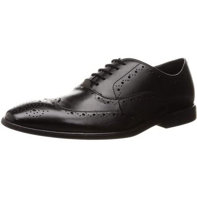 [クラークス] ビジネスシューズ 革靴 バンプトンローデス メンズ ブラックレザー 27 cm