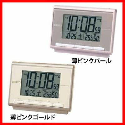 セイコー 電波目覚まし時計 SQ698 セイコー 全2色 プラザセレクト