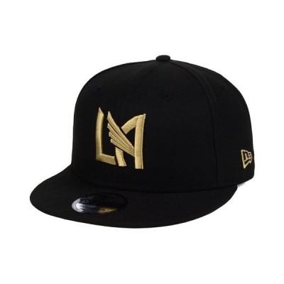 ニューエラ 帽子 アクセサリー メンズ Los Angeles Football Club Core 9FIFTY Snapback Cap Black