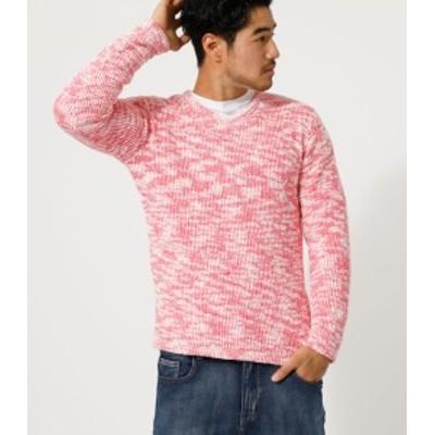 【30%OFF】 MOLE V/N LONG TEE/モールVネックロングTシャツ MENSメンズ