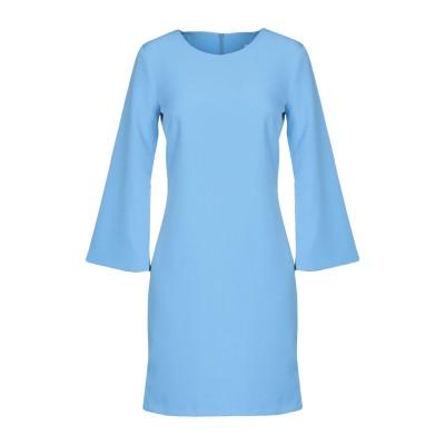 TWENTY EASY by KAOS ミニワンピース&ドレス アジュールブルー 44 88% ポリエステル 12% ポリウレタン ミニワンピース&