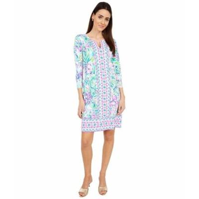 リリーピュリッツァー ワンピース トップス レディース UPF 50+ Nadine Dress Multi Lillys Favorite Things Engineered Chilly Lilly