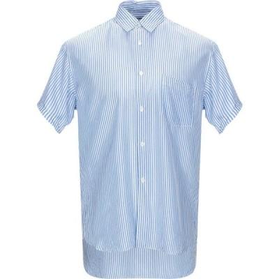 コム デ ギャルソン COMME des GARCONS SHIRT メンズ シャツ トップス striped shirt Azure