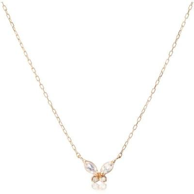 [スイーツ ジュエリー マーケット] ダイヤモンド 0.01ct ピンクゴールド K10 ネックレス 1293851