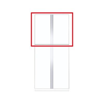 マイセット Y3-80TUS ベーシック Y3 玄関収納 トールユニット 上台のみ 高さ180cmタイプ 間口80cm 奥行35.8cm [♪▲]
