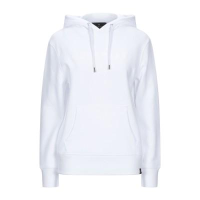 ベルスタッフ BELSTAFF スウェットシャツ ホワイト L コットン 100% スウェットシャツ