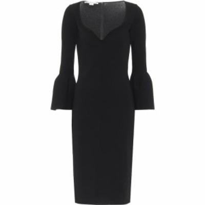 ステラ マッカートニー Stella McCartney レディース パーティードレス ワンピース・ドレス Bell-sleeve knit dress Black