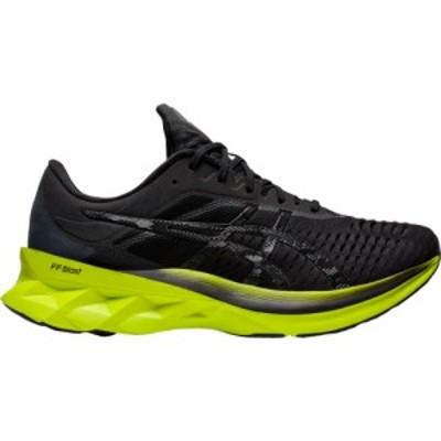 アシックス ASICS メンズ ランニング・ウォーキング シューズ・靴 Novablast Black/Lime Zest
