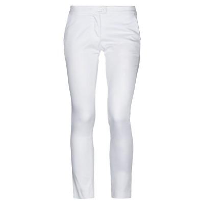 MAESTA パンツ ホワイト 40 コットン 97% / ポリウレタン 3% パンツ