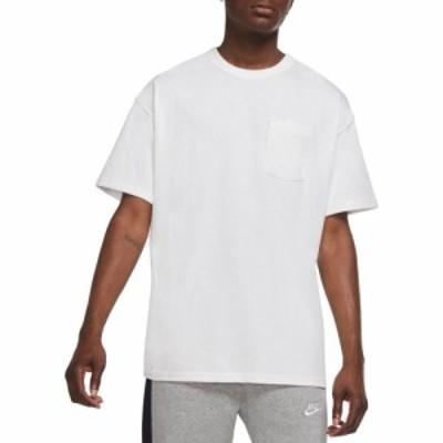 ナイキ Nike メンズ Tシャツ ポケット トップス Sportswear Premium Essential Pocket T-shirt White/White