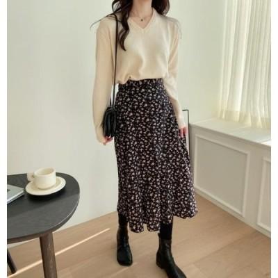monodaily レディース スカート Ruen Flare Skirt