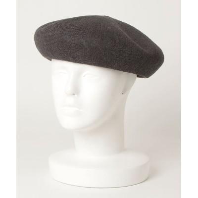BEAMS MEN / BEAMS / リネン ベレー MEN 帽子 > ハンチング/ベレー帽
