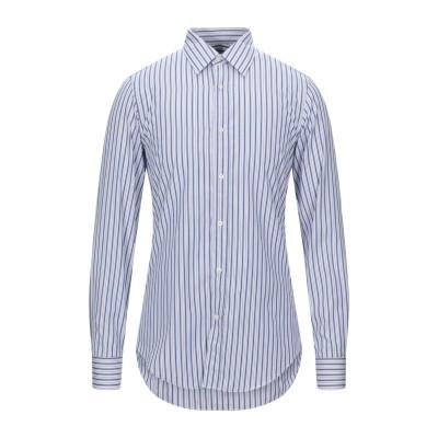 マウロ グリフォーニ MAURO GRIFONI シャツ ブルー 40 コットン 100% シャツ