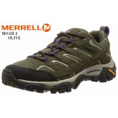 MERRELL (メレル)MOAB 2 GORE-TEX モアブ2 ゴアテックス トレッキングカジュアルブーツ レディス トレッキングからタウンユースまで幅広