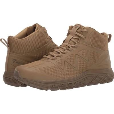 ベイツ Bates Footwear メンズ ランニング・ウォーキング シューズ・靴 Rush Mid Coyote