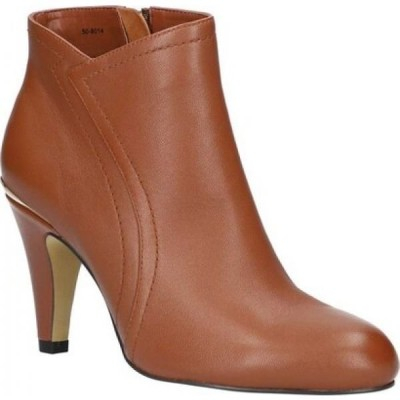 ベラヴィータ Bella Vita レディース ブーツ ショートブーツ シューズ・靴 Phyllis Ankle Bootie Dark Tan Leather