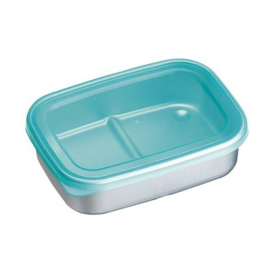 厨房用品 保存容器 / アルミ急速冷凍保存容器 S ブルー 寸法: 間口:157 x 奥行:115 x H44mm 容量:500ml