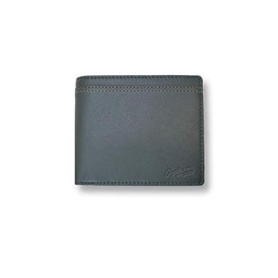 【全3色】 CROCODILE クロコダイル ウォレット 二つ折り お札入れ 財布(81cr64) (グリーン)
