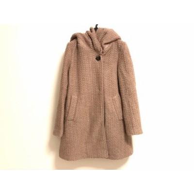 ブージュルード Bou Jeloud コート サイズ38 M レディース ベージュ 冬物【中古】20200107