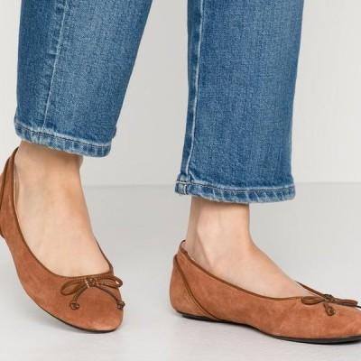 エスプリ レディース パンプス ALYA LEA BOW - Ballet pumps - rust brown