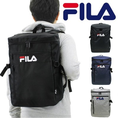 FILA(フィラ) ラウンド スクエアリュック デイパック バックパック リュックサック B4 7555 メンズ レディース 送料無料