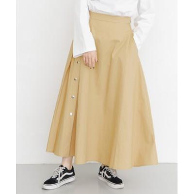 KBF / サイドタックボタンフレアスカート WOMEN スカート > スカート