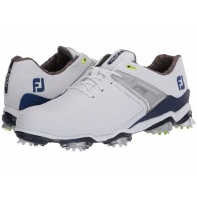 FootJoy フットジョイ メンズ 男性用 シューズ 靴 スニーカー 運動靴 Tour X White/Navy/Lime Trim【送料無料】