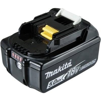 マキタ電動工具 18V 5.0Ah リチウムイオンバッテリ(残容量表示)