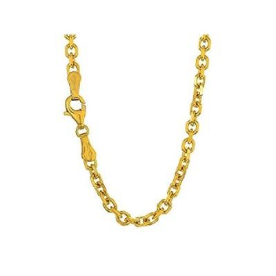 【新品】jewelstop 14K Solidゴールドイエローホワイトまたはローズ0.8MMケーブルチェーン、ネックレス、ロブスターclaw- 1618