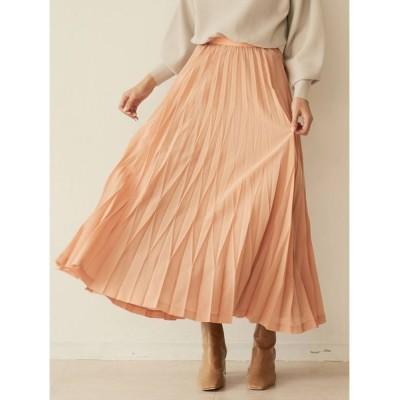 LAGUNAMOON / ランダムプリーツロングスカート WOMEN スカート > スカート