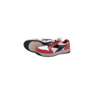 ディアドラ 安全作業靴 グレーブ レッド/ホワイト/ブラック 29.0cm GR312-290