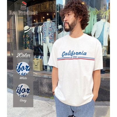 SALE/30%OFF Re:Product/リプロダクト California Print S/S T-SH 2Color 定価:¥4,900