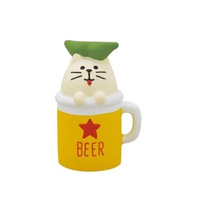 concombre コンコンブル おばけ猫ビール /メール便対応可/ミニチュア/デコレ/おばけ茶屋/夏