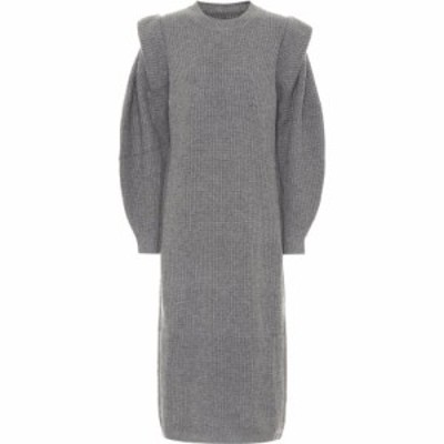 イザベル マラン Isabel Marant レディース ワンピース ミドル丈 ワンピース・ドレス bea wool and cashmere midi dress Grey