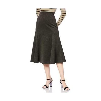 [ムルーア] スカート フィットマーメイドスカート レディース 012010800701 (カーキ 2)