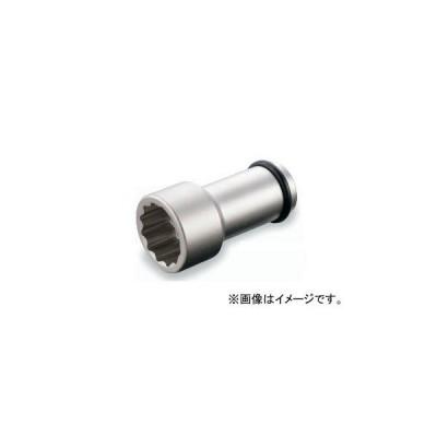 """トネ/TONE 19.0mm(3/4"""") インパクト用ロングソケット(12角) 品番:6NW-17L100"""