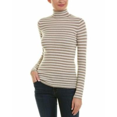 Vince ヴィンス ファッション ドレス Vince Skinny Rib Cashmere Sweater L Brown
