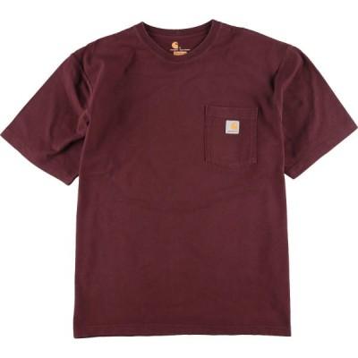 カーハート Carhartt ORIGINAL FIT ワンポイントロゴポケットTシャツ メンズXXL /eaa158710