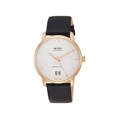 Mido M0274263601800 Sapphire Crystal Men??s Baroncelli Watch Rose Gold