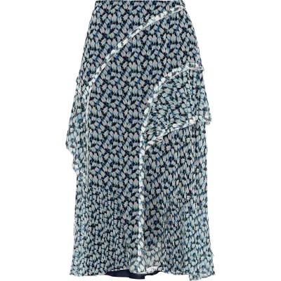 ジェイソン・ウー JASON WU 7分丈スカート ホワイト 10 シルク 100% 7分丈スカート