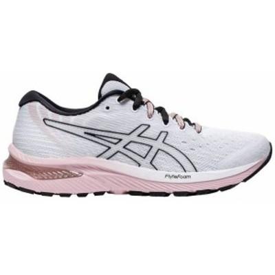 アシックス レディース スニーカー シューズ ASICS Women's GEL-Cumulus 22 Running Shoes White/Ginger