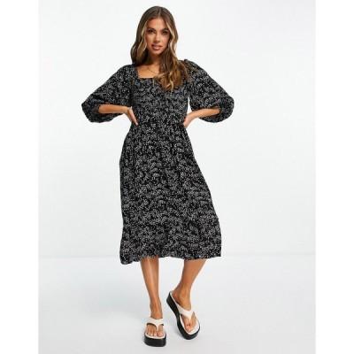 アイラバード ミディドレス レディース Iisla & Bird Exclusive midi beach dress in polka dot エイソス ASOS マルチカラー
