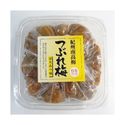 紀州南高梅つぶれ梅はちみつ味(300g)塩分6%